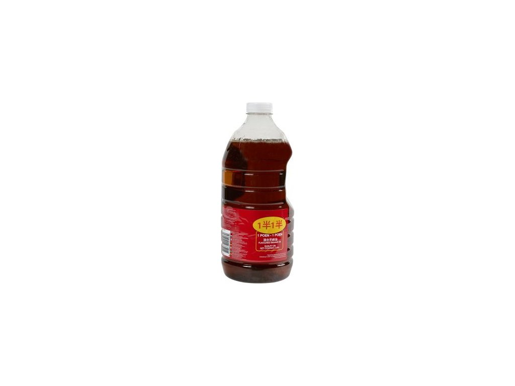 49988 poen flavoured sezame oil sezamovy olej 1 85l