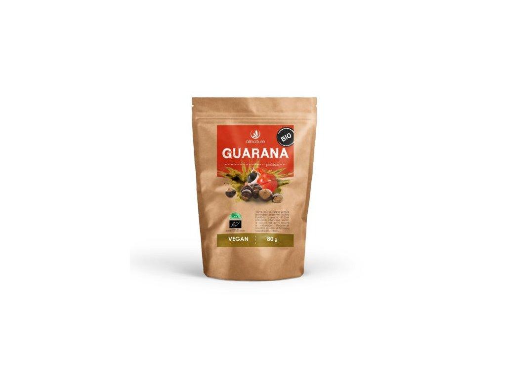 Guarana prášek BIO 80g Allnature