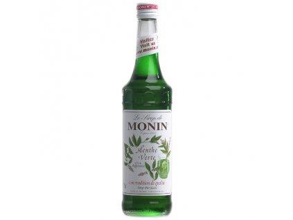 Monin green peppermint - mentol 0,7 l