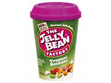 Jelly Bean Tropical Bonanza - želé fazolky tropická směs kelímek 200g