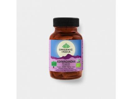 BIO Kapsle Ašvaganda 60 kapslí Organic India