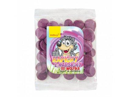 kapicky z kapsicky od wolfika jogurt boruvka 17 g wolfberry