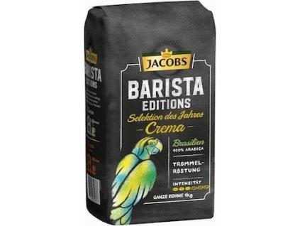 63986 kava jacobs barista selection brasil zrnkova kava 1kg