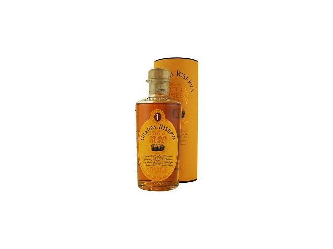 Grappa Sibona Riserva Whiskey Wood Finish 44% 0,5 l