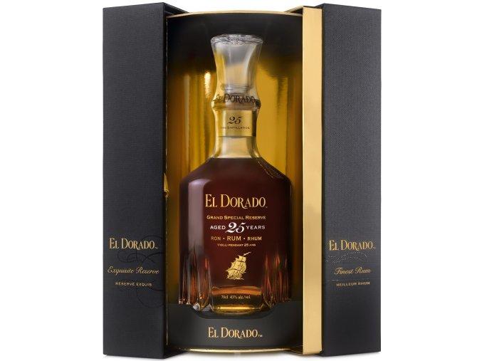 El Dorado Rum 25 YO 0,7 l Demerara Distillers