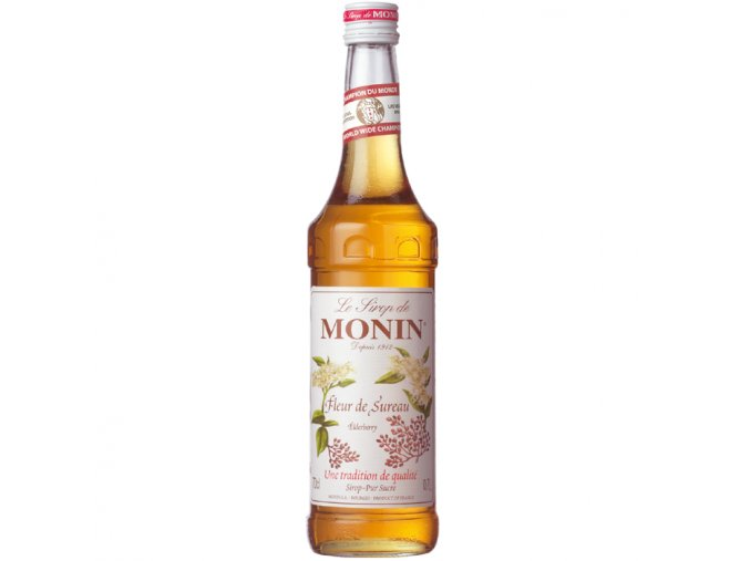 Monin Elderflower - bezinka 1 l