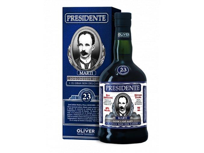 Rum Presidente 23 Anos Solera 40% 0,7 l