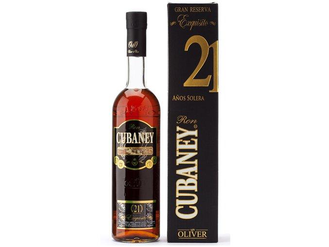 Rum Cubaney Exquisito 21 yo 38% 0,7 l