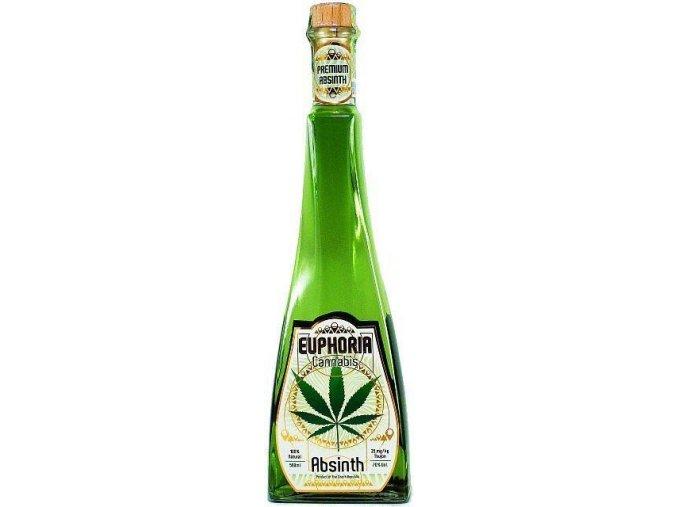 Absinth Euphoria Cannabis 70% 0,5 l Hills
