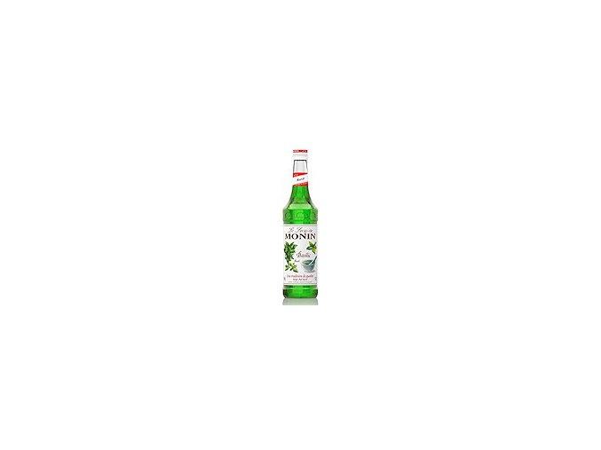 Monin Basilic - bazalka 0,7 l