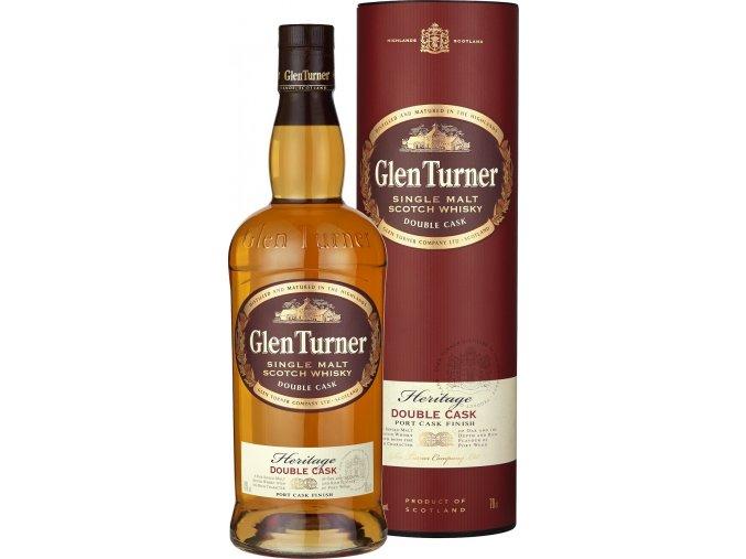 Glen Turner Single Malt Scotch Whisky 0,7 l  dárkové balení