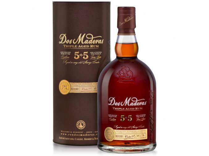Dos Maderas P.X. 10 years Old Ron Anejo Superior Doble Crianza 0,7 l