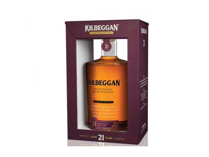 Kilbeggan 21 YO 0,7 l dárkový box