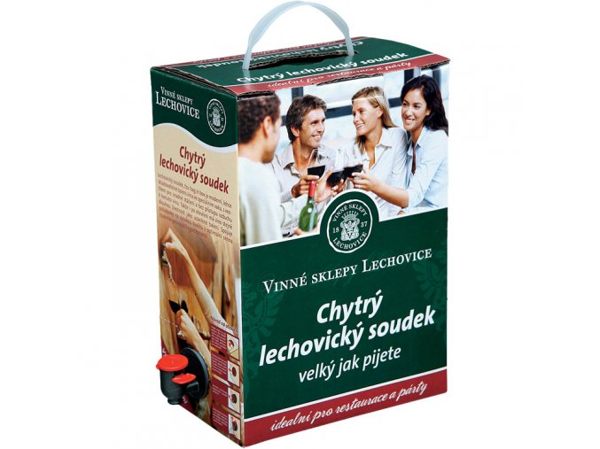 Cabernet Sauvignon jakostní BAG 5 l Lechovice