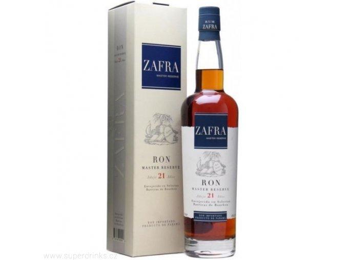 Rum Zafra Masters Reserve 21 let 0,7 l