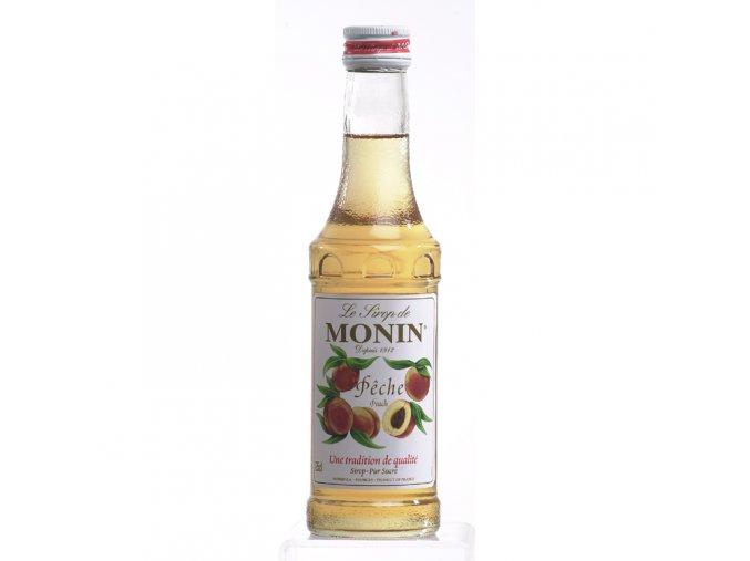 Monin Peche - broskev 0,25 l