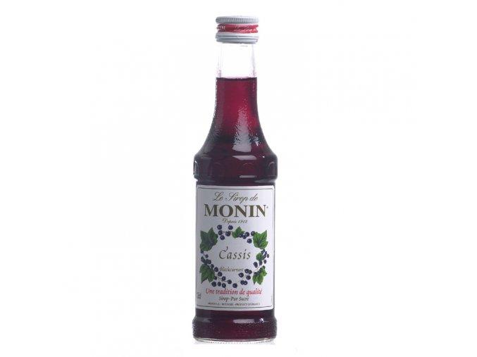 Monin Cassis - černý rybíz 0,25 l