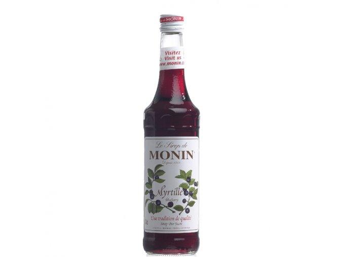 Monin blueberry - borůvka 0,7 l