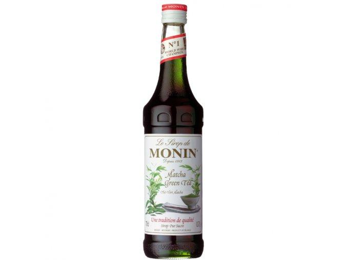 Monin green tea matcha 0,7 l
