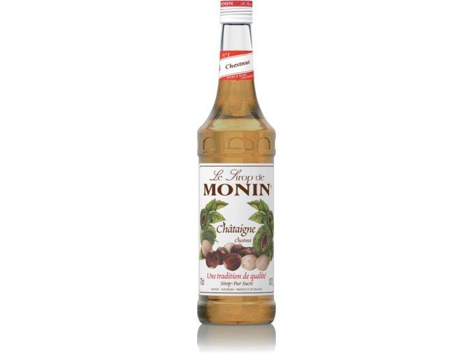 Monin chataigne - kaštan 0,7 l
