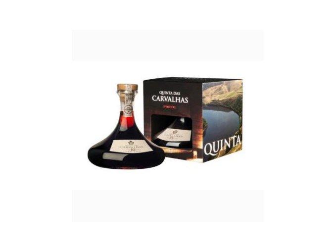 Porto Quinta das Carvalhas 10 YO 0,75 l v karafě a krabičce