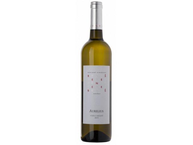 Rodinné vinařství Beneš Aurelius pozdní sběr 2017 0,75l