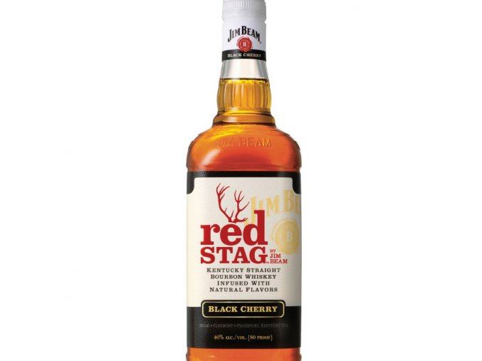 Jim Beam Red Stag Black Cherry 1 l