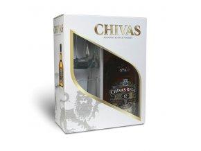 Chivas Regal 12 let 0,7 l dárková kazeta se sklenicemi