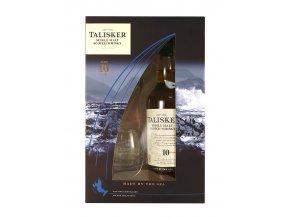 Talisker 0,7 l 10 letá dárkové balení se skleničkami