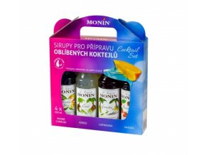 Monin Cocktail box 4 x 0,25 l