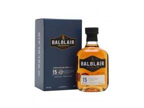 Whisky Balblair 15 yo 46% 0,7l