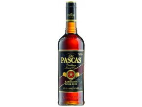 Old Pascas Barbados Dark Rum 37% 0,7 l