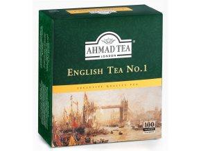 Čaj English No. 1 100 sáčků Ahmad Tea