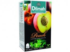 Čaj černý broskev 20sáčků DILMAH