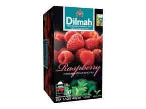 Čaj černý malina 20sáčků DILMAH