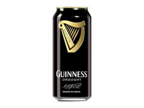 Guinness beer Stout Draught plech 0,44l 4,2%
