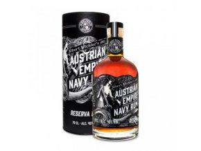 Austrian Empire Navy Rum Reserva 1863 s tubou  0,7l  40%