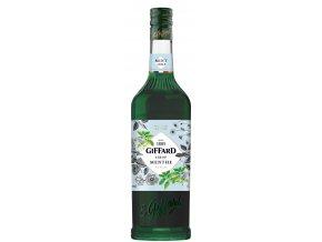 Giffard Green Mint - mátový sirup 1l