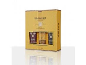 Glenmorangie Pack 3 x 0,35l Original, Lasanta, Quinta Ruban