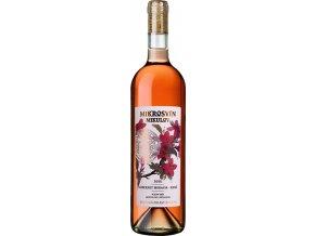 Mikrosvín Mikulov Cabernet Moravia rose pozdní sběr 2015 0,75l