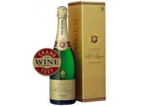 Pol Roger Blanc de Blanc Vintage v dárkovém boxu 2008 0,75l