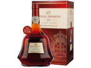 Royal Oporto 20 Years aged Tawny dárkový box 0,75l