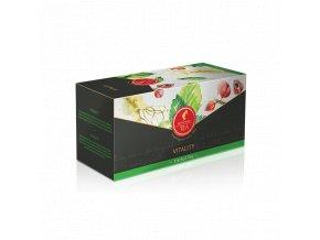 Prémiový bylinný čaj Vitality 18x2,5g Julius Meinl