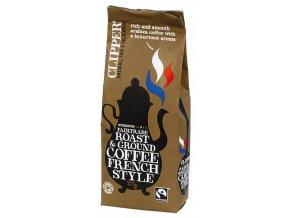 Bio Clipper French Style Fairtrade Organic Coffee - Jemná pražená mletá káva Arabica 225g