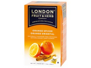 Čaj Orange Spicer - pomeranč se skořicí 20 sáčků London fruit and herbs