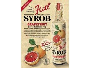 Syrob Grapefruit - grepový sirup 0,5l Kitl