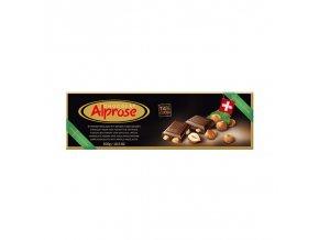 Alprose 74% hořká čokoláda s lískovými ořechy 300g