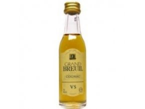 Cognac Grand Breuil VS 40% 0,03l MINI Tessendier
