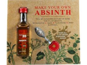 Make Your Own Absinth 0,05 l + lžíce + 2x cukr Dárková sada