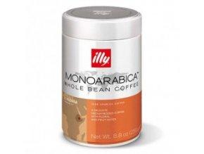 Káva Illy Monoarabica Ethiopia zrnková 250g dóza